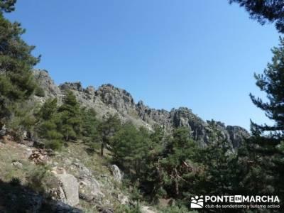 Cuerda de Cuelgamuros - Senderismo Ávila - Ruta Madrid; las majadas cuenca